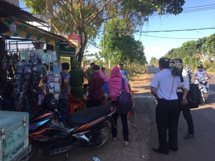 Người mua - bán tấp nập tại xã Bình Ba - Châu Đức