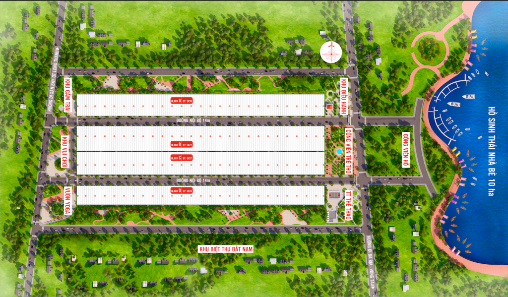 Mặt bằng dự án Phú Mỹ Future City