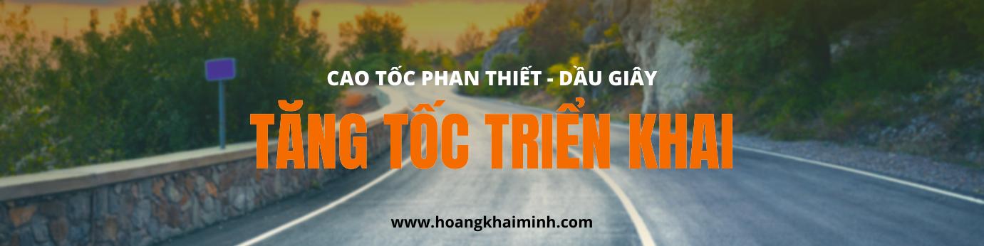 cao tốc Phan Thiết - Dầu Giây