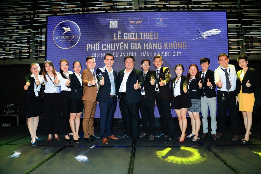 Công ty Hoàn Khải Minh tại lễ giới thiệu dự án ở Long Thành