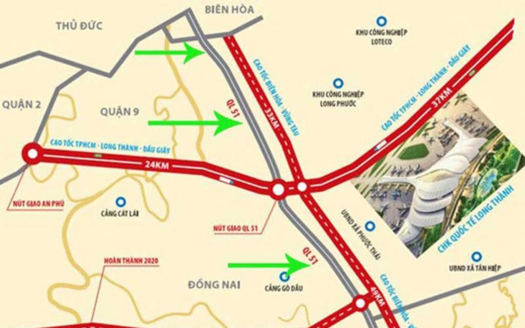 xây dựng tuyến đường liên vùng 4.